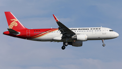 B-8078 - Airbus A320-214 - Shenzhen Airlines