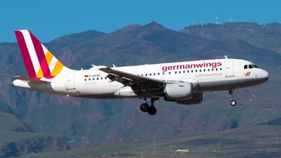 A picture of DAKNQ - Airbus A319112 - Eurowings - © Pablo Gonzalez de Leon