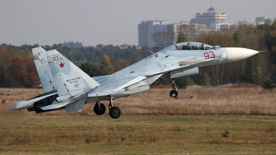 RF-95494 - Sukhoi Su-30M2 - Russia - Air Force