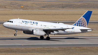 A picture of N851UA - Airbus A319131 - United Airlines - © Yixin Chen