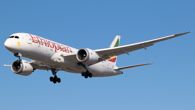 A picture of ETARF - Boeing 7878 Dreamliner - Ethiopian Airlines - © Frankie A Said