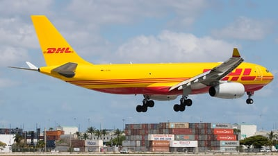 A picture of DALMA - Airbus A330243F - DHL - © Eric Page Lu