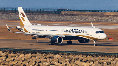 A picture of B58202 - Airbus A321252NX - Starlux Airlines - © Kevin Chung - AHKGAP