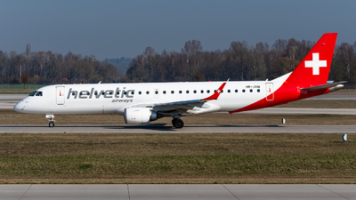 A picture of HBJVM - Embraer E190LR - Helvetic Airways - © Markus Schwab
