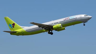 HL7559 - Boeing 737-86N - Jin Air