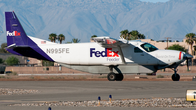 N995FE - Cessna 208B Super Cargomaster - FedEx Feeder (West Air)