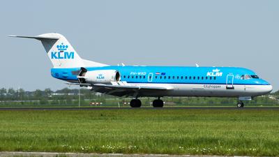 PH-WXD - Fokker 70 - KLM Cityhopper