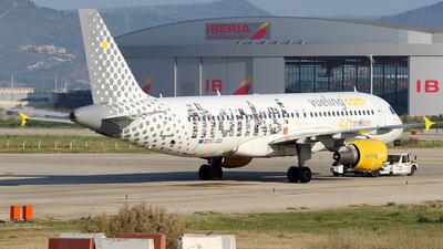 EC-JZQ - Airbus A320-214 - Vueling