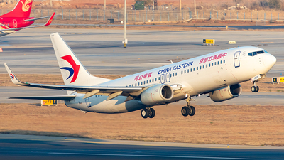 A picture of B1702 - Boeing 73789P - China Eastern Airlines - © Yan Shuai