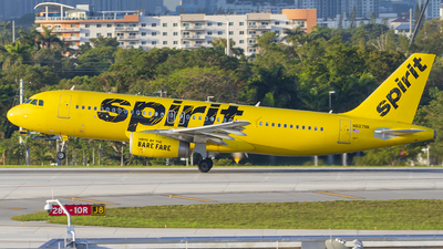 A picture of N607NK - Airbus A320232 - Spirit Airlines - © Nelson Mejia