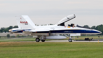 N846NA - McDonnell Douglas F/A-18B Hornet - United States - National Aeronautics and Space Administration (NASA)