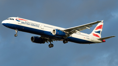 G-MEDG - Airbus A321-231 - British Airways