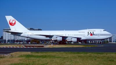 JA8162 - Boeing 747-246B - Japan Airlines (JAL)