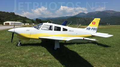 HB-PBS - Piper PA-28R-201T Turbo Cherokee Arrow III - Flugschule Basel