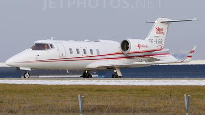 A picture of ERLGB - Learjet 60 -  - © Vanya Bitca