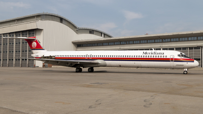 I-SMEL - McDonnell Douglas MD-82 - Meridiana