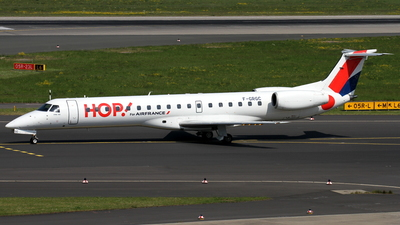 F-GRGC - Embraer ERJ-145EP - HOP! for Air France