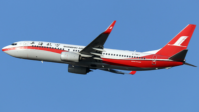B-7863 - Boeing 737-89P - Shanghai Airlines