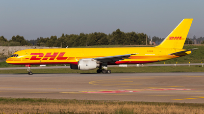 A picture of GBIKB - Boeing 757236(SF) - DHL - © Carlos Miguel Seabra