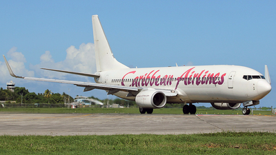 A picture of 9YJME - Boeing 73786J - Caribbean Airlines - © trini.spotter