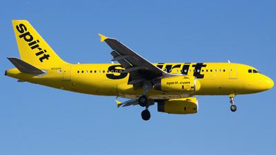 A picture of N516NK - Airbus A319132 - Spirit Airlines - © Xiamen Air 849
