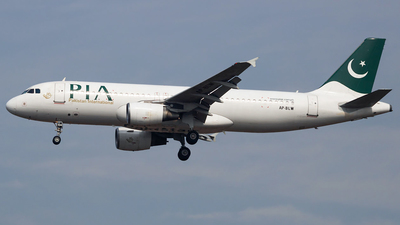 A picture of APBLW - Airbus A320214 - Pakistan International Airlines - © Hamza A. Mughal