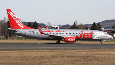 A picture of GGDFV - Boeing 73785F - Jet2 - © Karl Dittlbacher