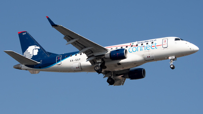 XA-GAY - Embraer 170-100LR - Aeroméxico Connect