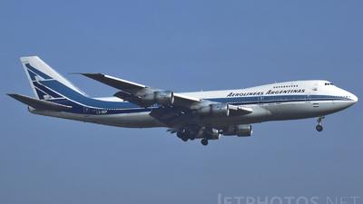 LV-OEP - Boeing 747-287B - Aerolíneas Argentinas