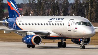 A picture of RA89127 - Sukhoi Superjet 10095B - Aeroflot - © Vadim Shustrov