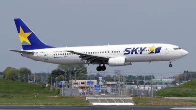 JA737M - Boeing 737-86N - Skymark Airlines