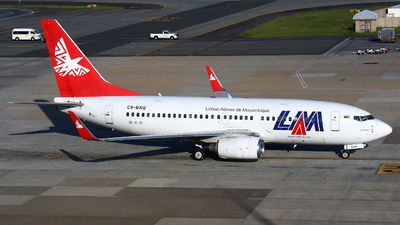 C9-BAQ - Boeing 737-752 - Linhas Aéreas de Moçambique (LAM)