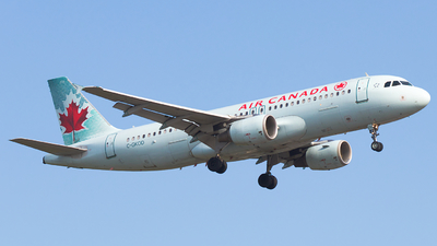 A picture of CGKOD - Airbus A320214 - Air Canada - © Alex I.