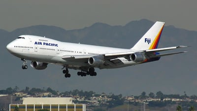 DQ-FJE - Boeing 747-238B - Air Pacific
