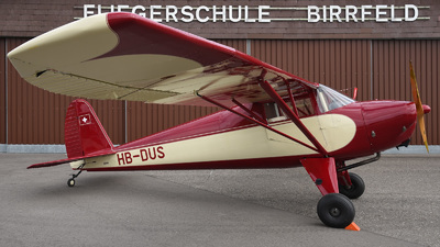 HB-DUS - Luscombe 8A Silvaire - Private