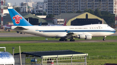 A picture of B2461 - Boeing 74741BF(SCD) - China Southern Airlines - © chuongkimphong