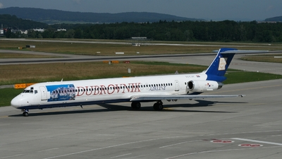 9A-CDC - McDonnell Douglas MD-82 - Dubrovnik Airline