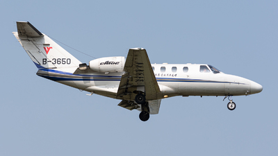B-3650 - Cessna 525 Citationjet CJ1 - Civil Aviation Flight University of China