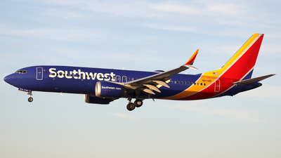 N8716B - Boeing 737-8 MAX - Southwest Airlines