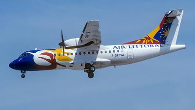 F-GPYM - ATR 42-500 - Air Littoral