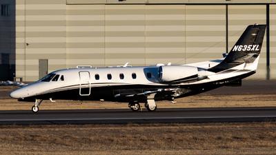 N635XL - Cessna 560XL Citation XLS Plus - Private