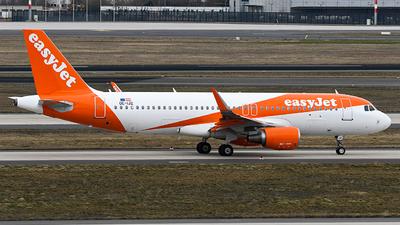 OE-IJZ - Airbus A320-214 - easyJet Europe