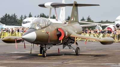 LN-STF - Canadair CF-104D Starfighter - Private