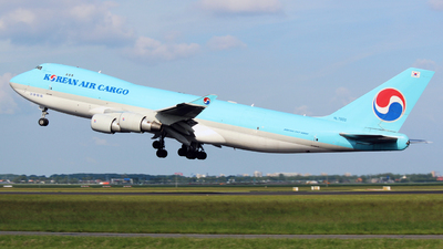 HL7600 - Boeing 747-4B5ERF - Korean Air Cargo
