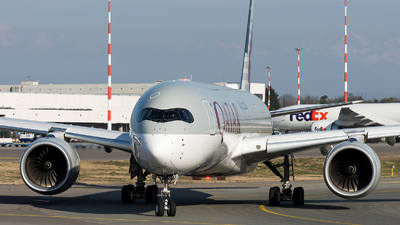 A7-ALN - Airbus A350-941 - Qatar Airways