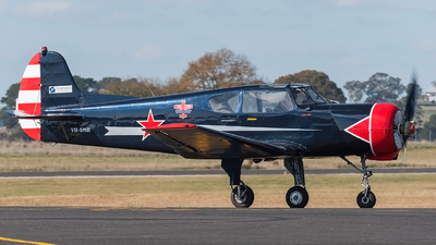 VH-SMH - Yakovlev Yak-18T - Private