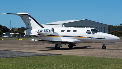 VH-SQY - Cessna 510 Citation Mustang - AirMed