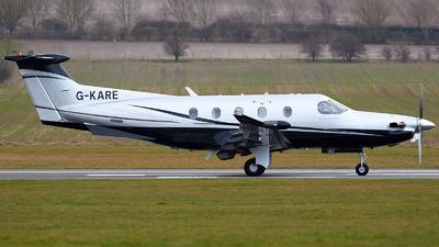 A picture of GKARE - Pilatus PC12/47E - [1257] - © David Blaker