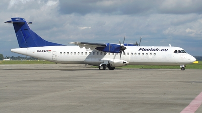 HA-KAO - ATR 72-202(F) - Fleet Air International