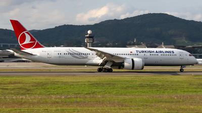 TC-LLI - Boeing 787-9 Dreamliner - Turkish Airlines